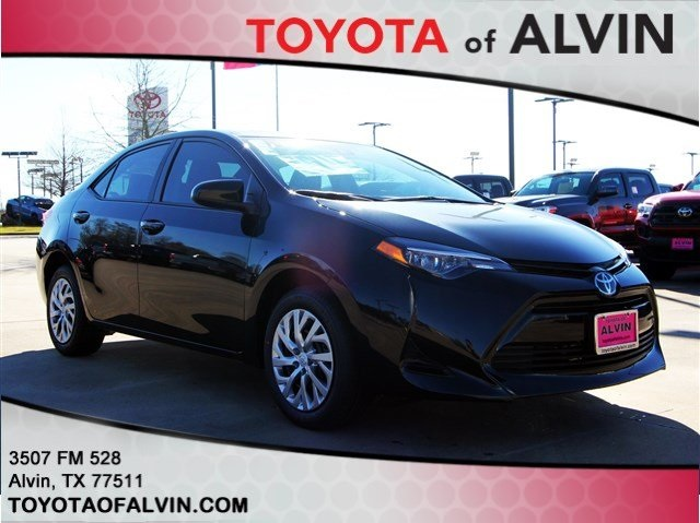 New 2019 Toyota Corolla Le 4d Sedan In Alvin C221041 Toyota Of Alvin