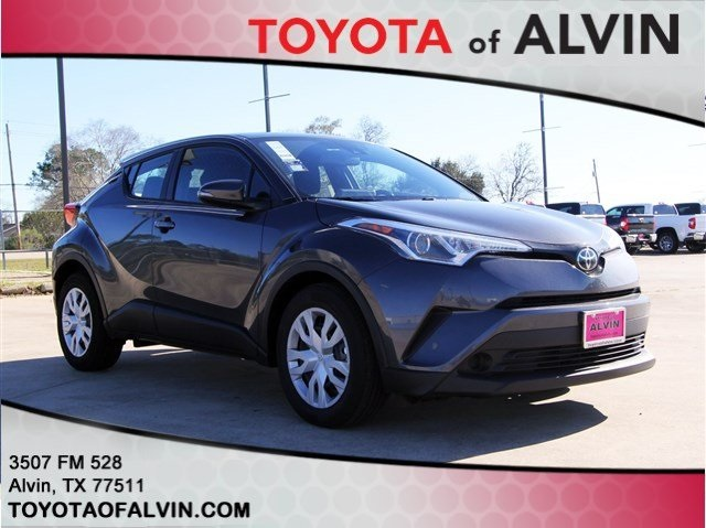 New 2019 Toyota C Hr Le 4d Sport Utility In Alvin R078427 Toyota
