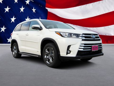 New 2019 Toyota HIGHLANDER HYBRD Limited Platinum