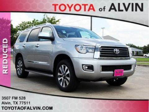 New 2018 Toyota SEQUOIA 4X4 Limited