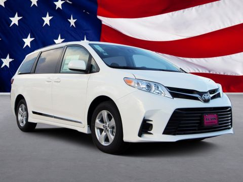 New 2020 Toyota SIENNA LE 3.5L LE