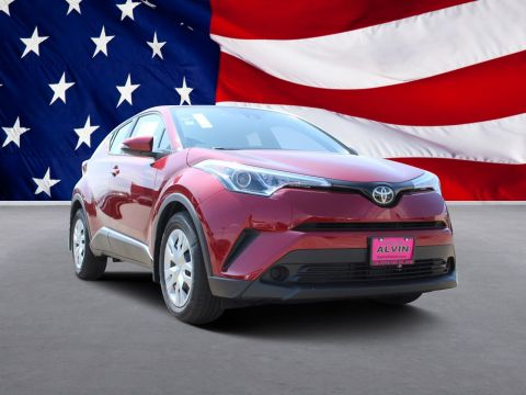 New 2019 Toyota C-HR LE